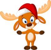 Cute cartoon deer Stock Image