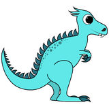 Cute Cartoon Dinosaur Stock Photo