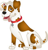 Cute cartoon dog Stock Images