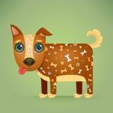 Cute Cartoon Dog Royalty Free Stock Photo