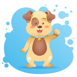 Cute cartoon dog toy  Royalty Free Stock Photography