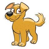 Cute cartoon dog Stock Image