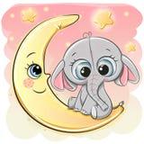 Sleeping Elephant stock vector. Illustration of animals ...