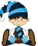 Cute Cartoon Elf Boy Royalty Free Stock Photography