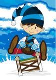 Cute Cartoon Elf Royalty Free Stock Photo