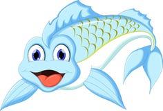Cute cartoon fish. Illustration of Cute cartoon fish Royalty Free Stock Images