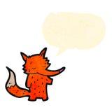 Cute cartoon fox Royalty Free Stock Photos
