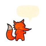 Cute cartoon fox Royalty Free Stock Photography