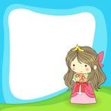 Cute cartoon frame. Created by vector Stock Photos