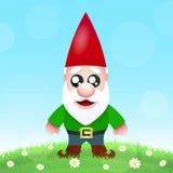 Cute Cartoon Garden Gnomes Royalty Free Stock Photos