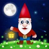 Cute Cartoon Garden Gnomes Stock Photos