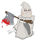 Cute cartoon ghost Royalty Free Stock Photo