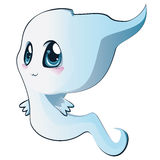 Cute cartoon ghost Royalty Free Stock Image