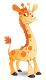 Cute Cartoon Giraffe Royalty Free Stock Image