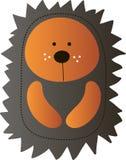 Cute cartoon hadgehog Royalty Free Stock Images