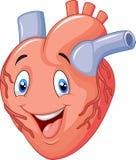 Cute Cartoon heart Royalty Free Stock Image