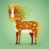 Cute Cartoon Horse Stock Photos