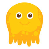 Cute Cartoon jelly character Royalty Free Stock Photo