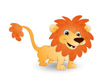 Cute Cartoon Lion Stock Photography