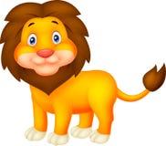 Cute Cartoon lion Stock Photography