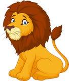 Cute cartoon lion Stock Photos