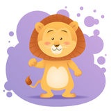 Cute cartoon lion toy  Royalty Free Stock Photos
