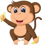 Cute Cartoon monkey. Illustration of cute Cartoon monkey Stock Image