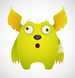 Cute Cartoon Monster Royalty Free Stock Photos
