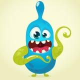 Cute cartoon monster vector illustration