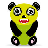 Cute cartoon Monster on a white background. Royalty Free Stock Image