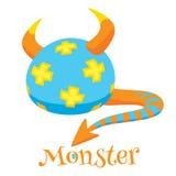 Cute cartoon monsters Royalty Free Stock Photos