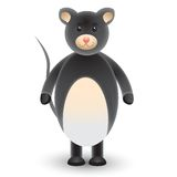 Cute cartoon mouse Stock Photo