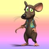 Cute Cartoon Mouse Stock Photography