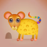 Cute Cartoon Mouse Royalty Free Stock Image