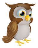 Cute Cartoon owl Royalty Free Stock Photos