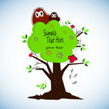 Cute cartoon owls  set for baby showers, birthdays and invitation designs. Cute cartoon owls  set for baby showers, birthdays Royalty Free Stock Images