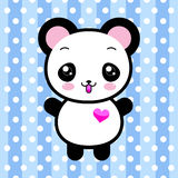 Cute cartoon panda toy Royalty Free Stock Photos