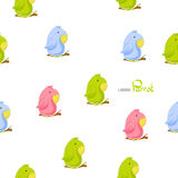 Cute cartoon parrot Stock Images