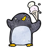 Cute cartoon penguin Stock Image