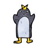 Cute cartoon penguin Royalty Free Stock Images