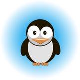Cute cartoon penguin. Funny penguin on white background vector illustration beautiful Stock Photography