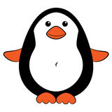 Cute cartoon penguin Royalty Free Stock Image
