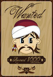 Cute Cartoon Pirate Poster Stock Photography