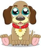 Cute cartoon puppy Stock Photography