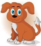 Cute cartoon  puppy dog Stock Image
