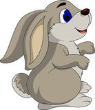 Cute cartoon rabbit Stock Photos