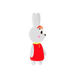 Cute cartoon Rabbit Royalty Free Stock Images