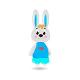 Cute cartoon Rabbit Royalty Free Stock Photo