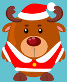 Cute cartoon reindeer Royalty Free Stock Images