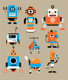 Cute cartoon robot Stock Image